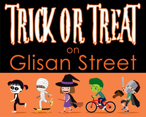 Trick or Treat on Glisan Street